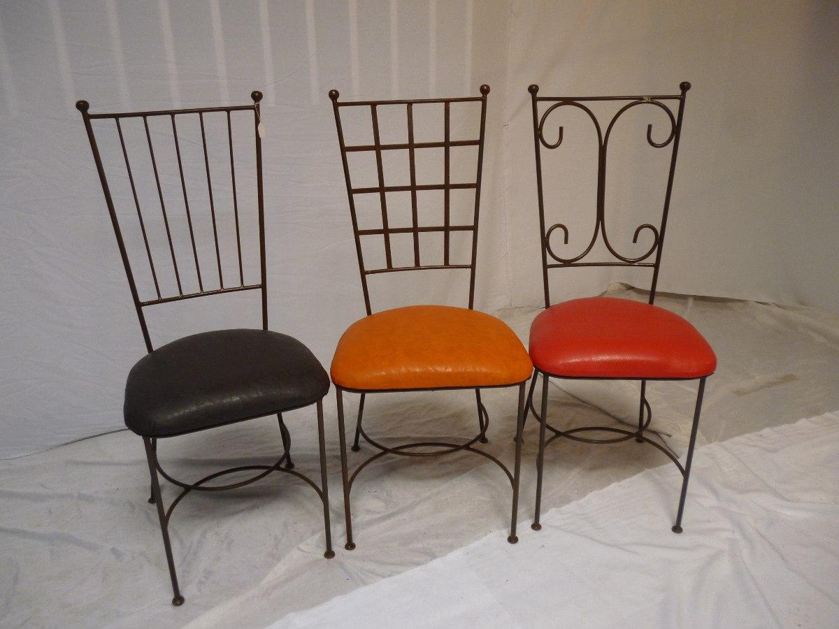 Sillas y mesas para restaurant de metal 1 en for Mercado libre mesas y sillas