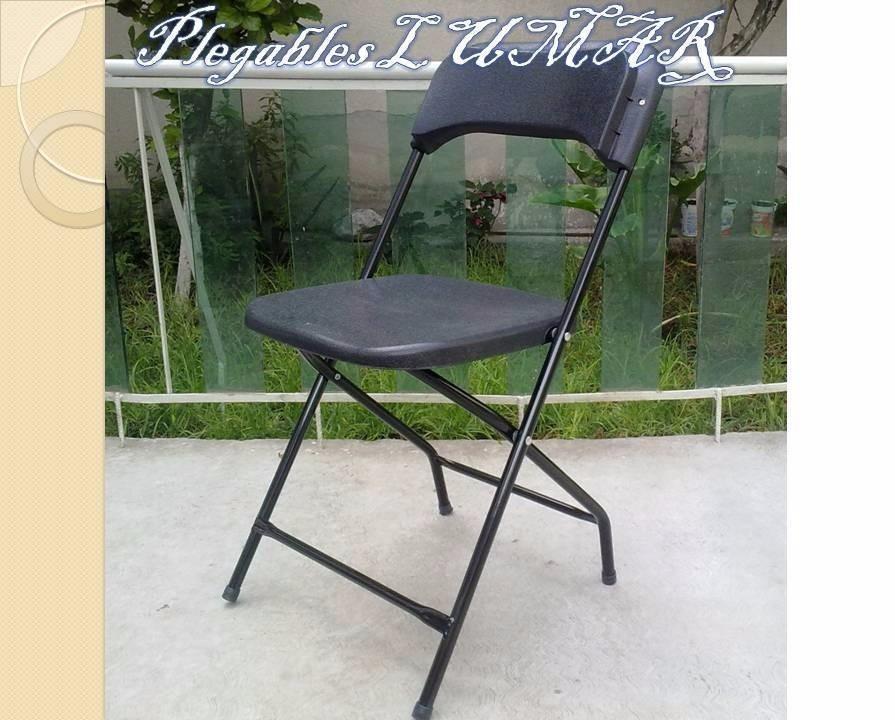 Sillas y mesas plegables plegables lumar en for Precio de sillas plegables