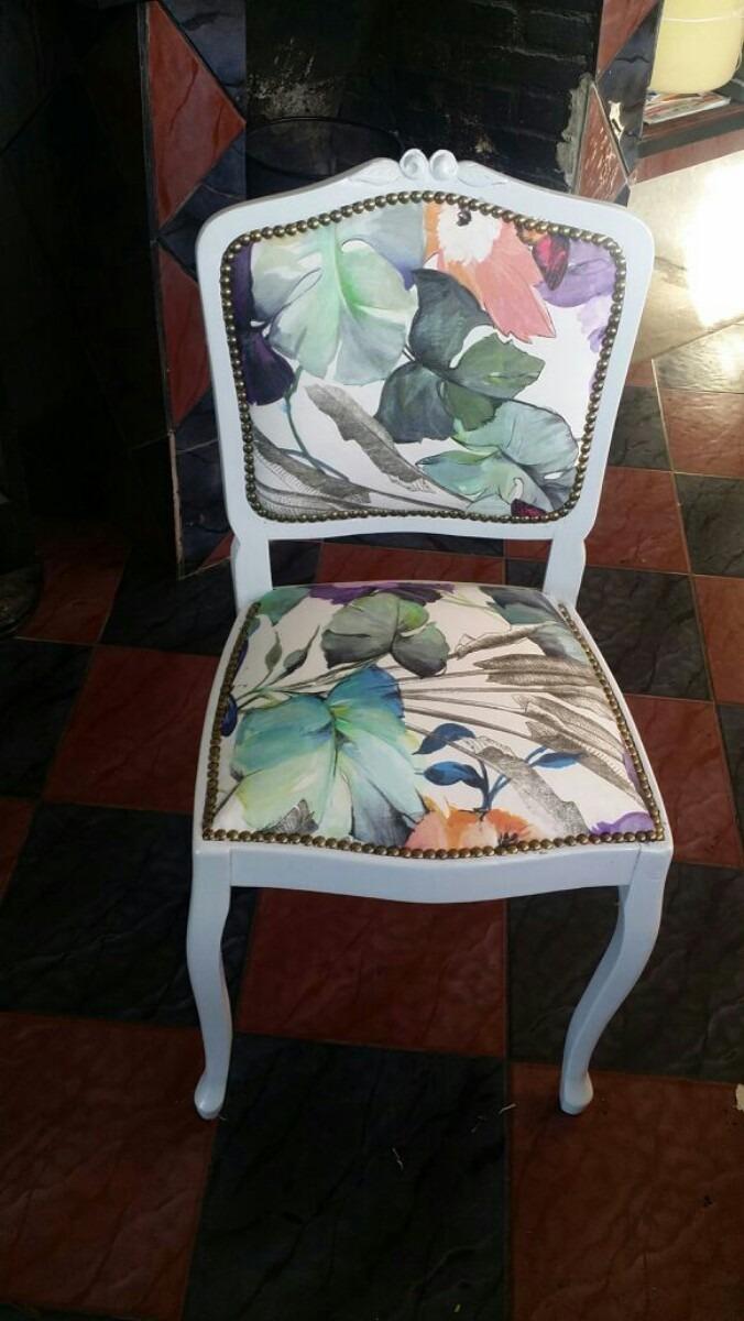 Sillas y sillones tapizados lustres encolados 10 00 en mercado libre - Sillas y sillones ...