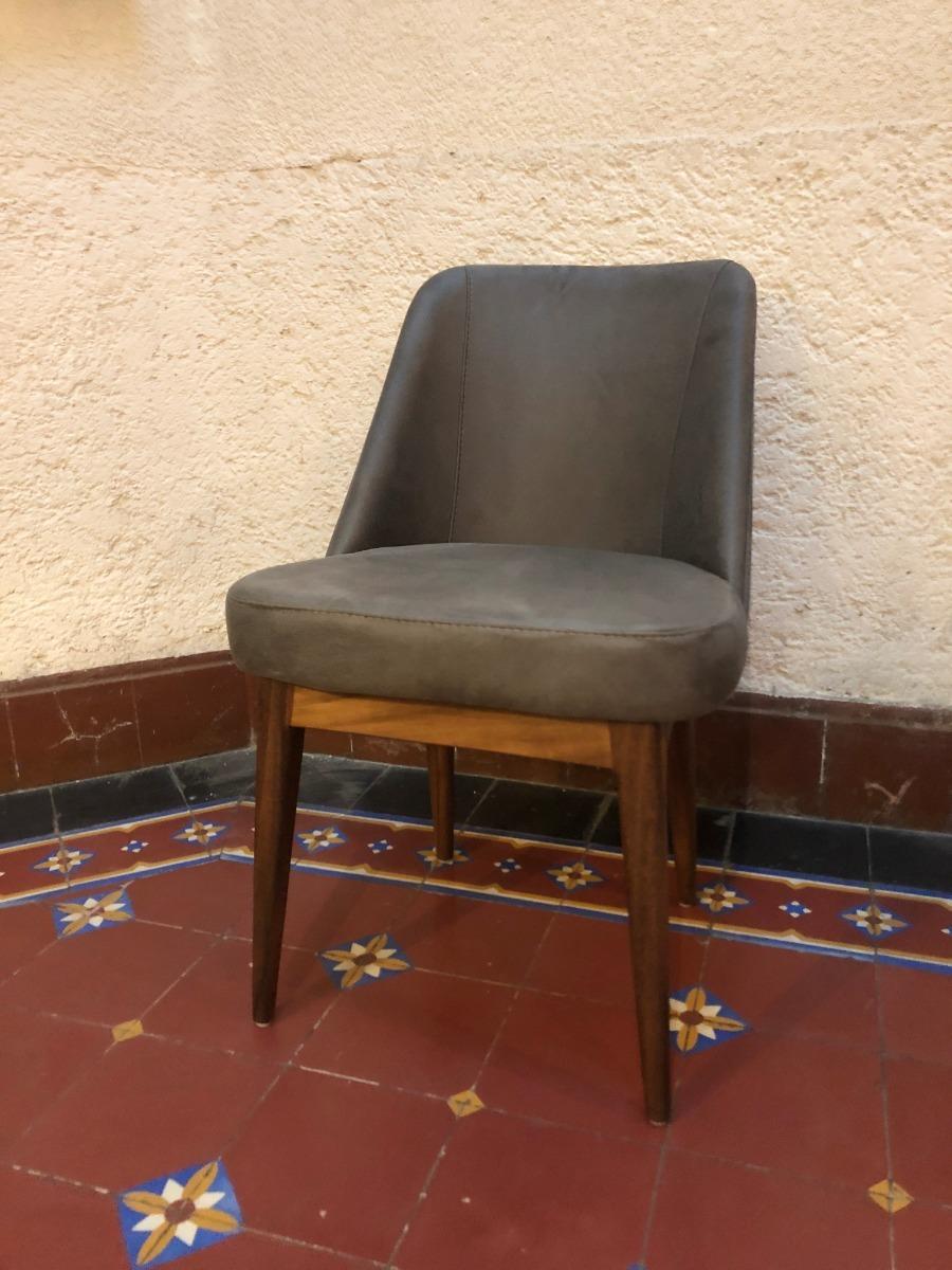Silla/sillón Para Comedor O Sala De Madera Poplar - $ 3,525.00 en ...