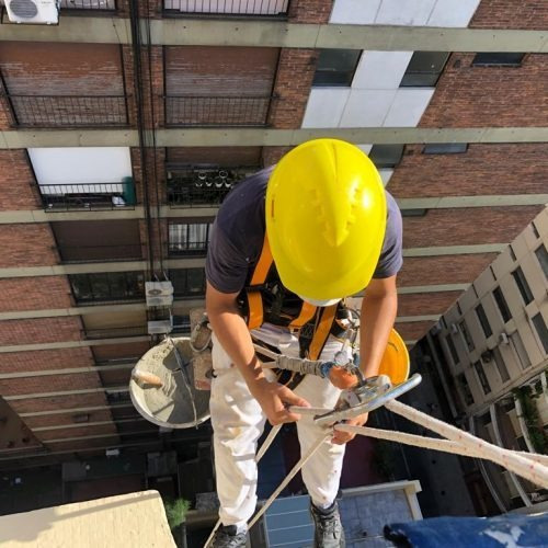 silleteros trabajos en altura pintura edificios 30 años exp