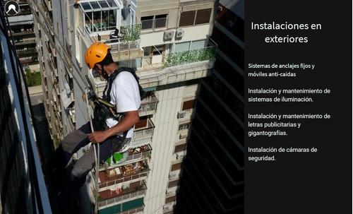 silleteros trabajos verticales, trabajos en altura, pintura.