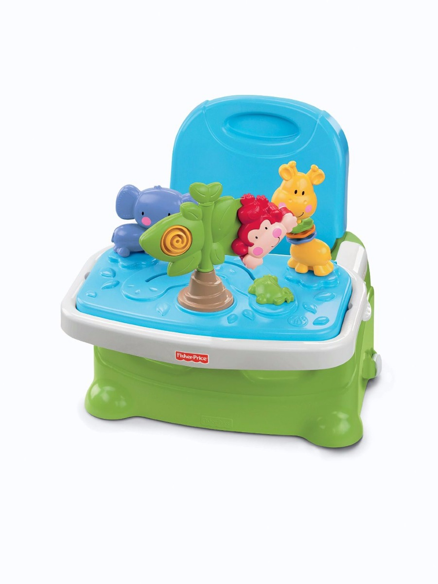 Sillita silla comer fisher price bebe booster juguete for Silla fisher price para comer