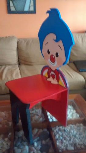 sillitas infantiles de piñon fijo y plin plin