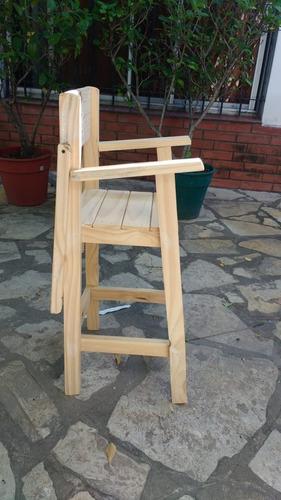 sillolín de pino para chicos