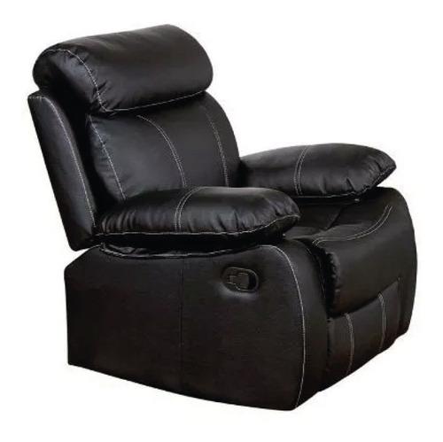 sillon 1 cuerpo sofa reclinable living san martin marron
