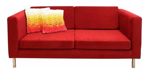 sillon 2 cuerpos 160 sofa living placa soft forbidan muebles