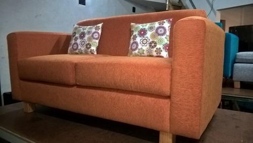 sillón 2 cuerpos placa soft + 2 almohadones de regalo!