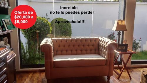 sillon 2 lugares | sofa love seat estilo ingles