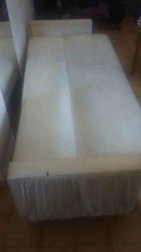 sillon 3 cuerpos, cama de una plaza