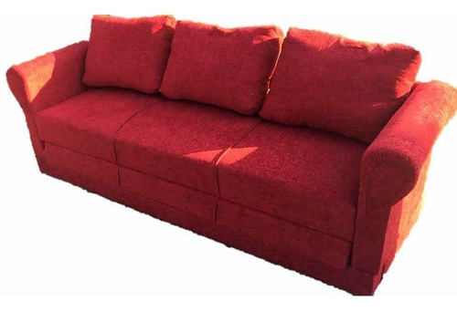 sillon 3 cuerpos, cama, sofá cama, futon. tela o cuerina