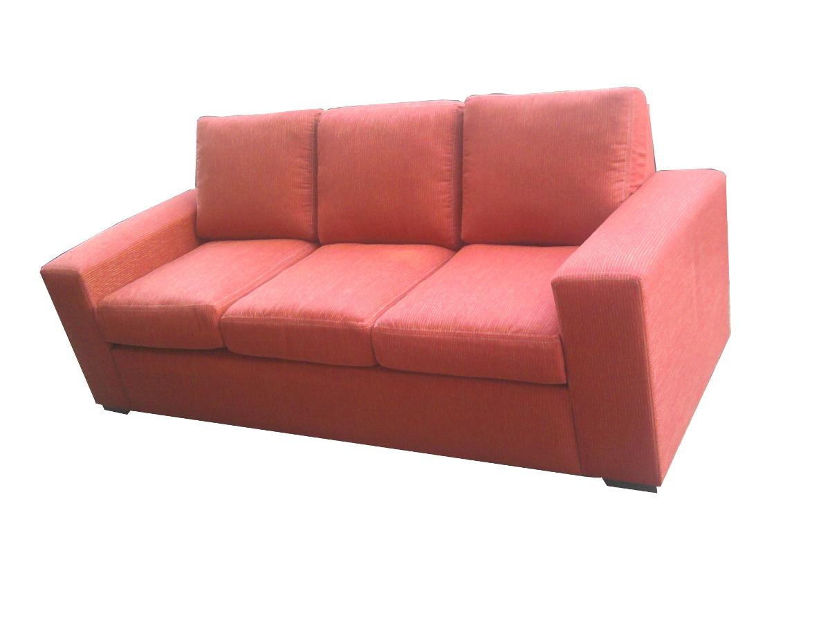 Sillon 3 cuerpos sof 100 almohadones sueltos muy c modo en mercado libre - Sofas muy comodos ...