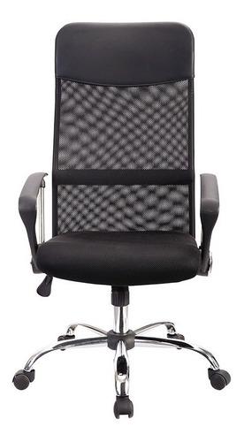 sillón ads para oficina ejecutivo everest, reclinable, mesh