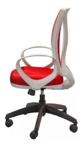 sillón alma gerencial blanco base negra kromo-s envio