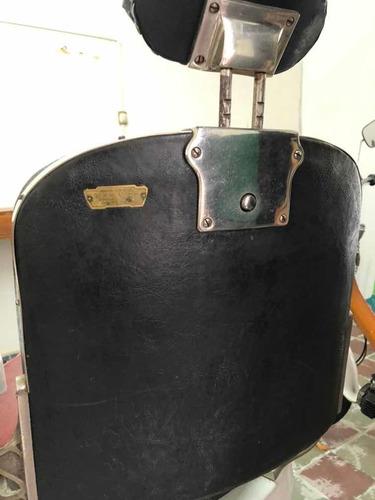 sillón antiguo de barbero koken usa
