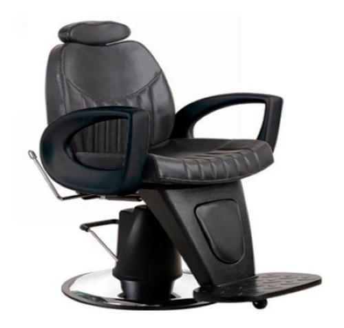 sillón barbería peluquería moderno retro