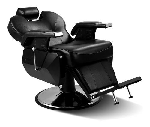 sillon barbero peluqueria reclinable hidraulico
