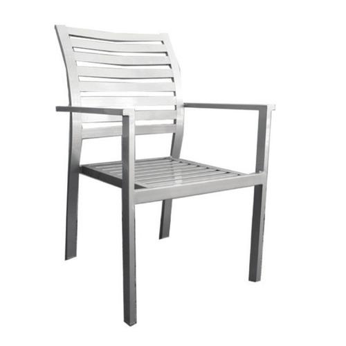 sillón boheme de aluminio