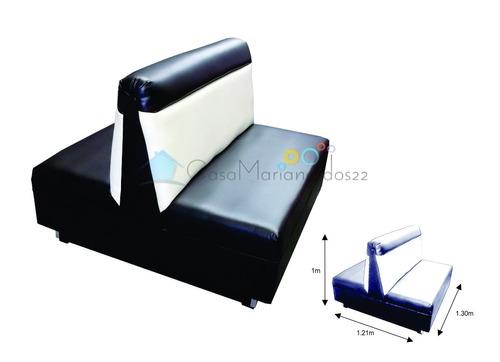 sillón booth para restaurante vips lounge bar cafeteria senc