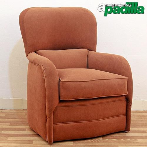 sillón butaca de living gallinal estructura eucaliptus