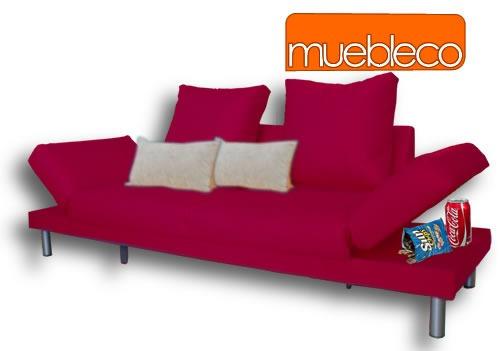 Sillon c sofa cama reclinable sala env o gratis muebleco for Sillon cama mercado libre