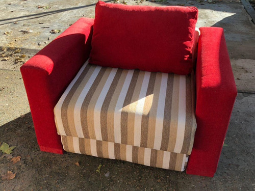 sillón cama 1 plaza en chenille