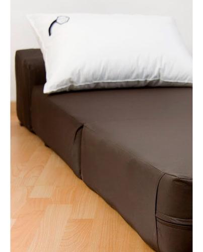 sillón cama arial espuma 24kg 190x65 jmc