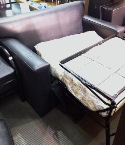 sillon cama c/ mecanismo !! colchon 13 cm incluido!de locos!