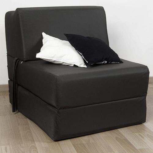sillón cama cervical arcoiris 1 cuerpo / 1 plaza eco cuero