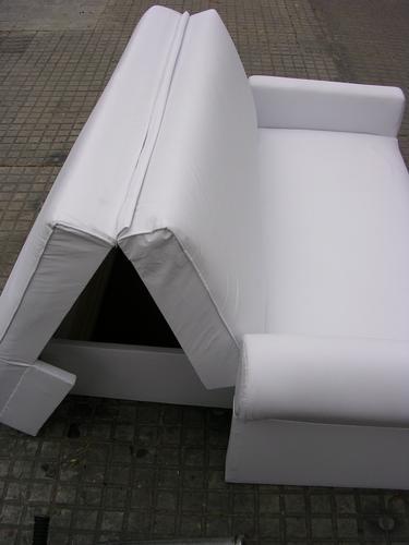 Sillon cama con ba l 2 plazas variedad de colores for Sillon sofa cama 2 plazas