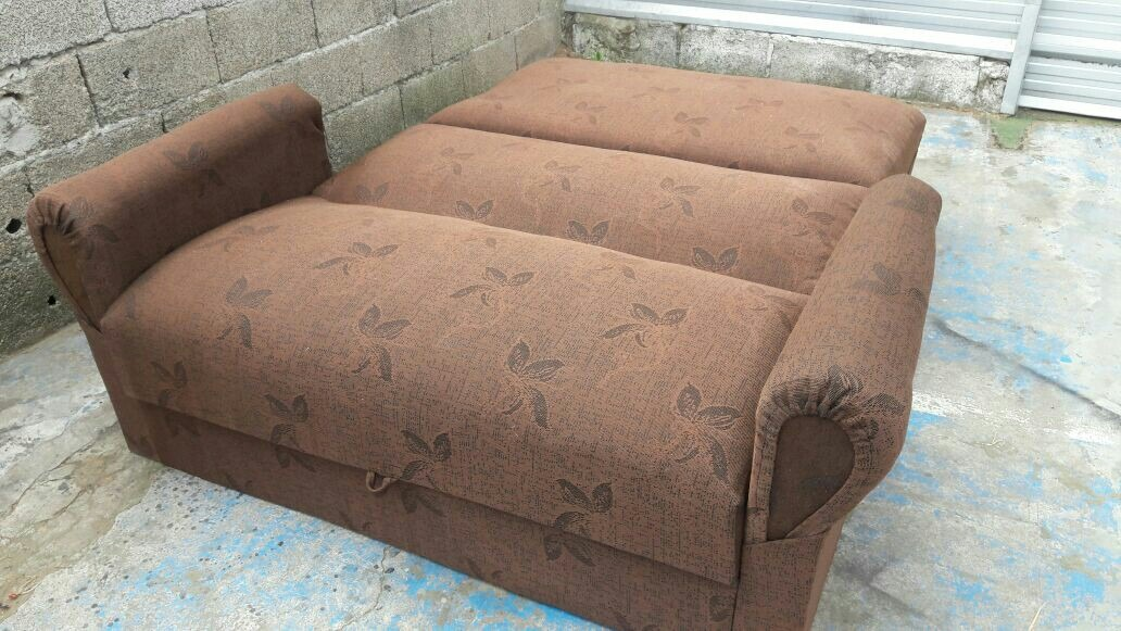 Sill n cama dos plazas con brazo en mercado libre for Sillon cama de 2 plazas
