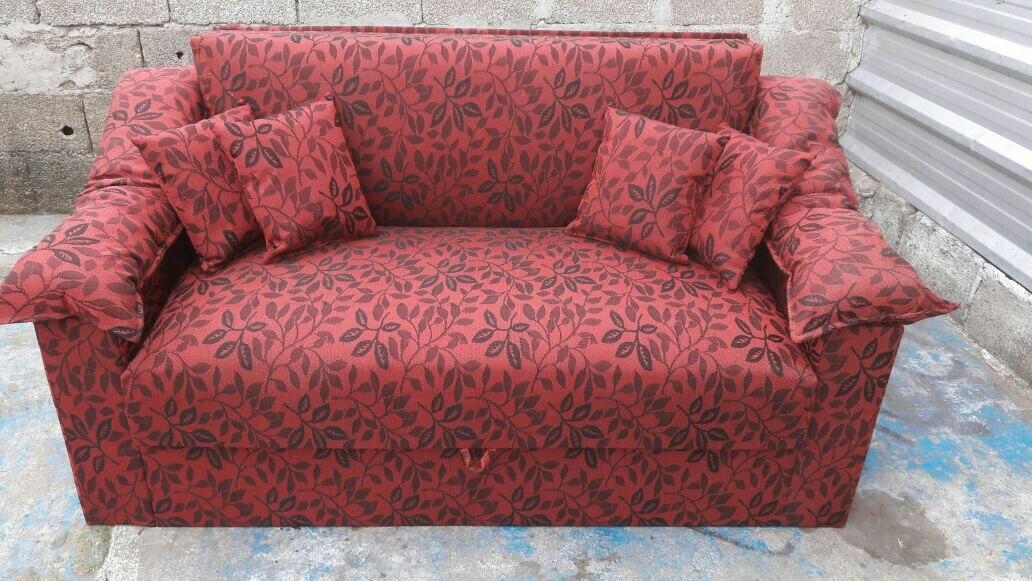Sill n cama dos plazas con brazo en mercado libre for Sillon dos plazas
