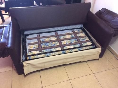sillon cama dos plazas hermoso