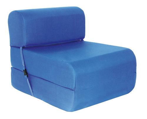 sillón cama imperial d-15 0,90 cm. azul