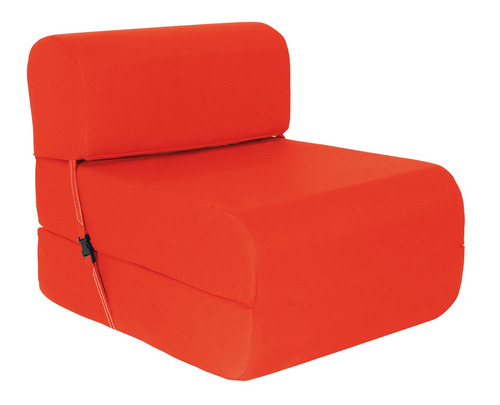 sillón cama imperial d-15 0,90 cm. rojo