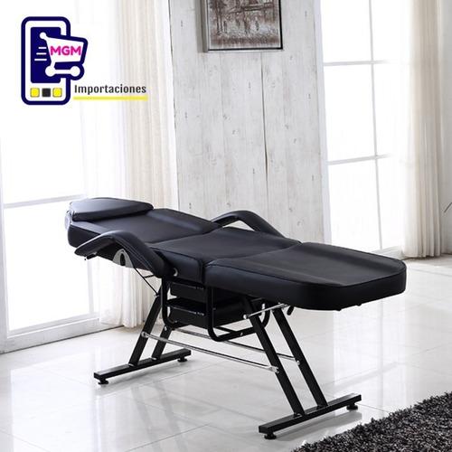 sillón camilla estética spa masaje
