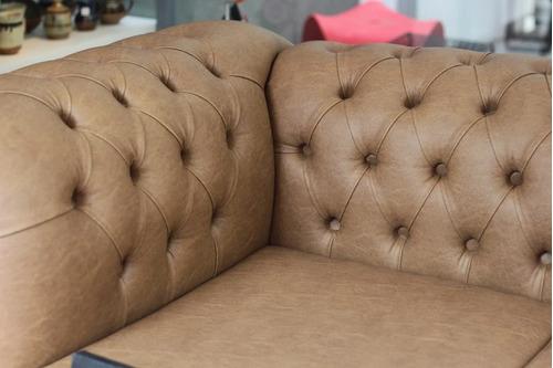 sillón chester de 2 ccuerpos