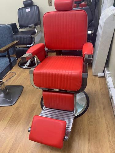 sillon clasico de barberia
