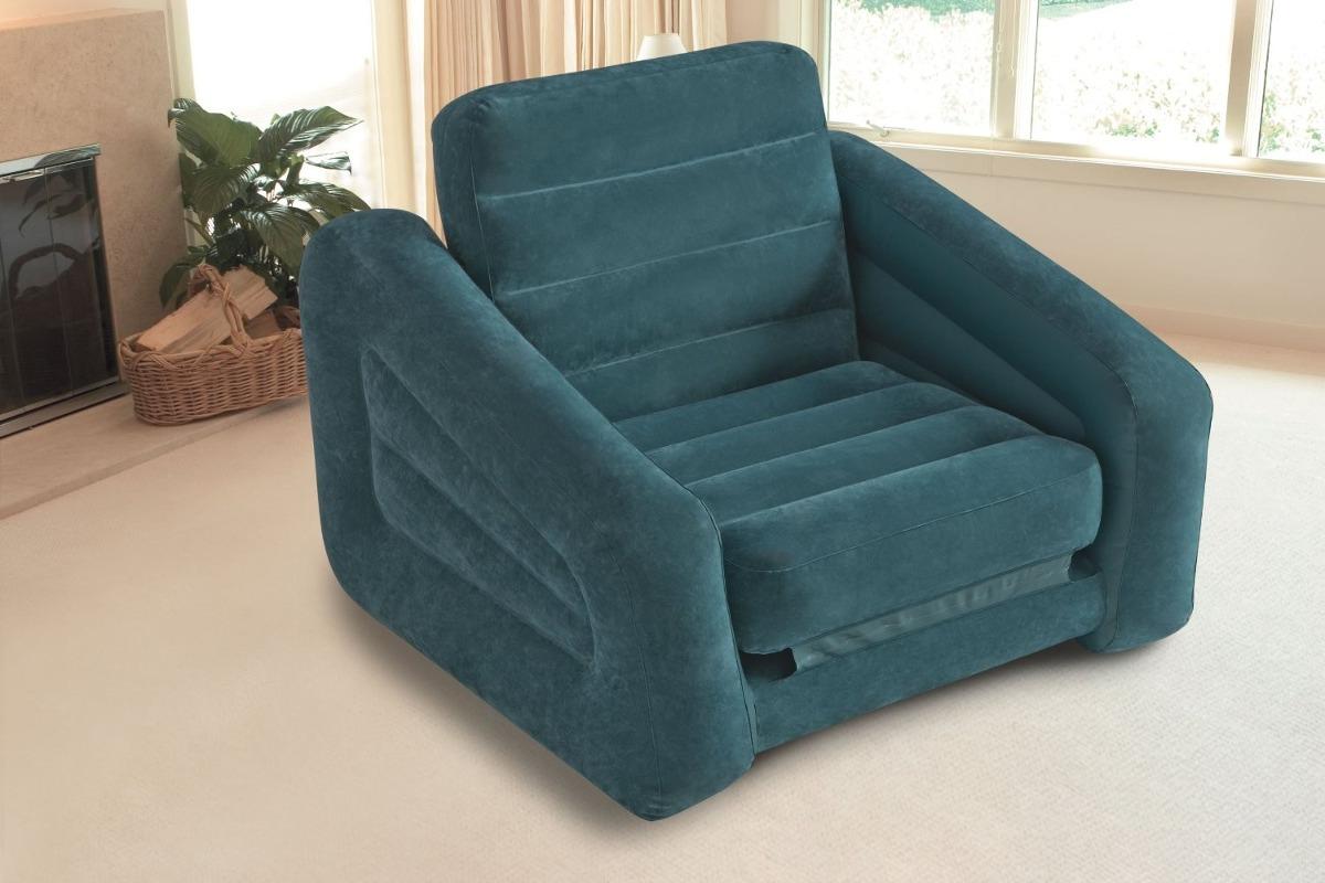 Sillon comodo inflable cama individual intex envio gratis for Sofa cama inflable