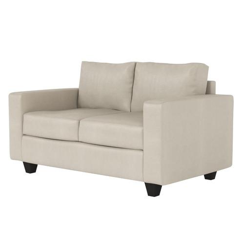 sillón corinto de 2 cuerpos color crudo