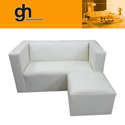 sillón cubo,minimalista, moderno, ideal para espacios chicos