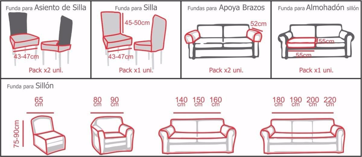 Funda de sofa a medida great medidas with funda de sofa a - Fundas de sofa a medida ...