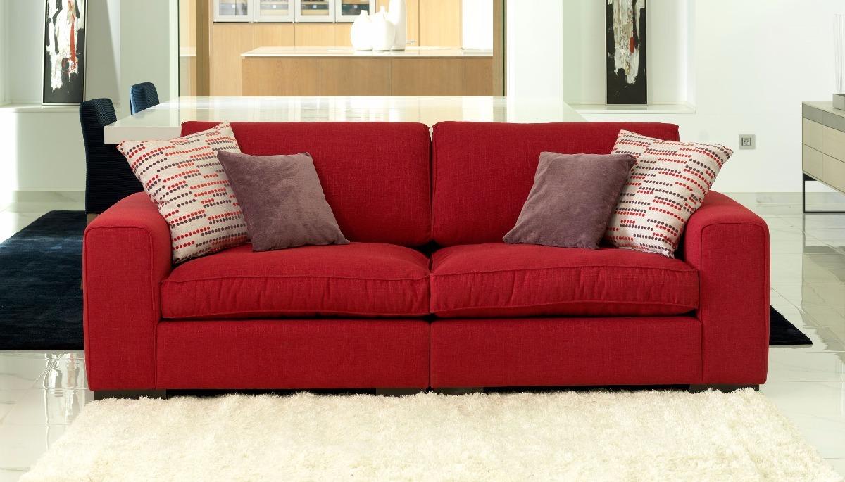 Sillon Sofa Chenille Premium Soft 2 Cuerpos Muebles Oasis  # Muebles Oasis Caseros