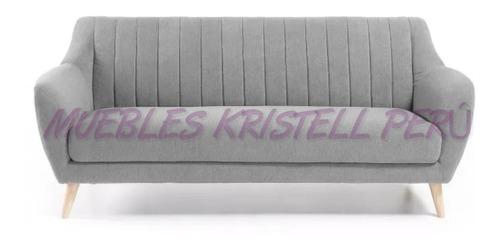 sillón de 03 cuerpos muebles de sala juegos de sala sofas