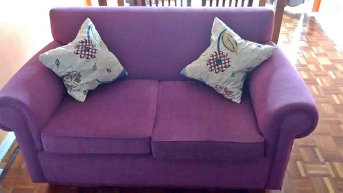 sillón de 2 cuerpos en chenille