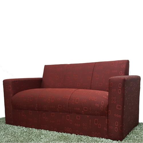sillon de 3 cuerpos, sofa minimalista recto gh.equipamientos
