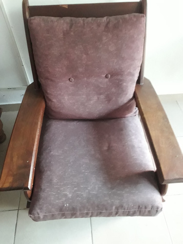 sillón de algarrobo