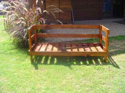 Muebles de jardin en madera jardin exterior madera mesa - Sillon madera exterior ...