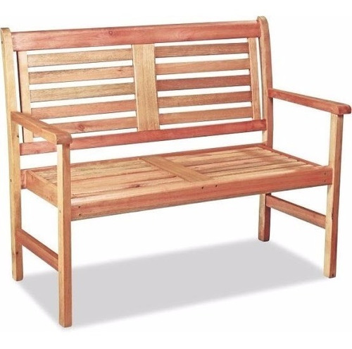sillon de madera eucalipto para patio exterior o jardin 2 cuerpos - ecomadera - amancay +