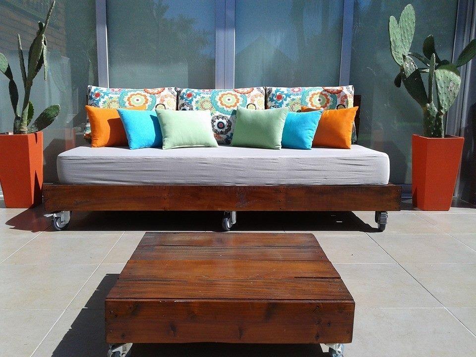 Sillones con palets de madera great muebles de palets - Sillon con palets de madera ...